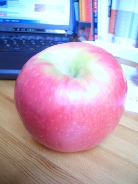 leckerer Apfel