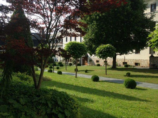 Das Kloster St. Josef in Neumarkt war die perfekte Unterkunft für uns!