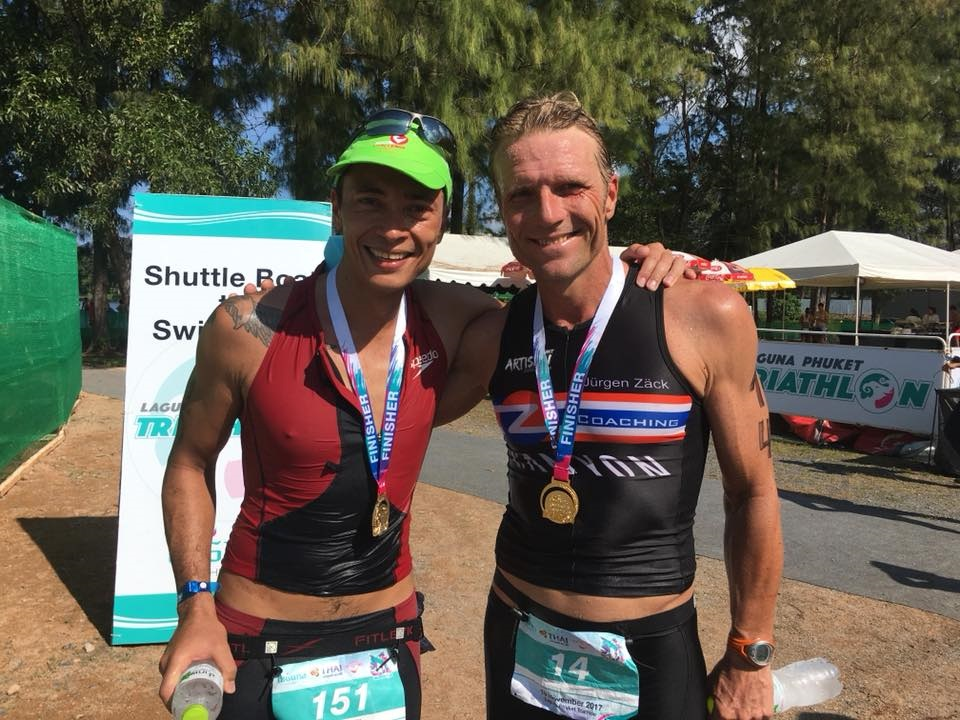 John Rüth & Jürgen Zäck, Laguna Phuket Triathlon 2017
