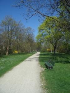 Münchens Radwege im Frühling