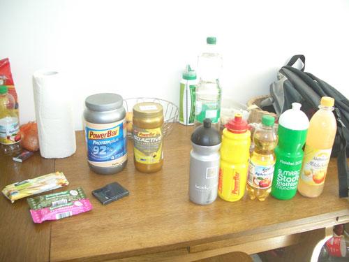 Meine Ernährung beim Marathon-Training