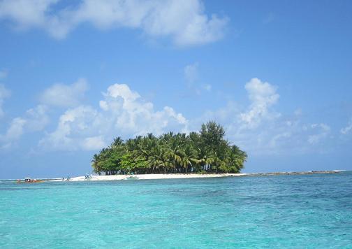 Schwimmtraining nähe Guyam Island auf den Philippinen