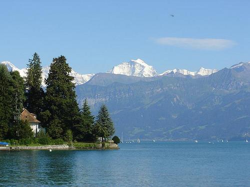 Der Garmin-Alpen-Triathlon findet am bayerischen Schliersee statt