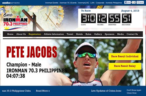 Ironman 70.3 Philippines: neues Highlight für 2013
