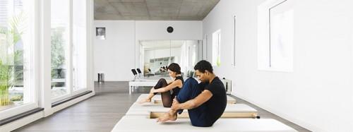 Pilates-Training und Silvesterlauf in München