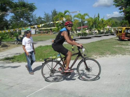 Bergamont Fahrrad beim Triathlon