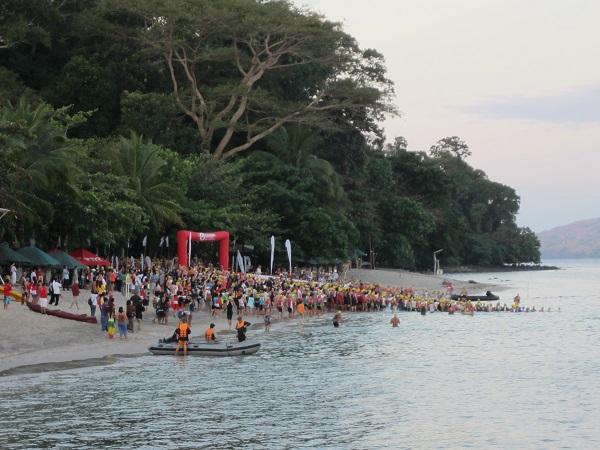 Triathlonsport auf den Philippinen
