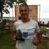 John Rüth beim Sandurot 113 Triathlon