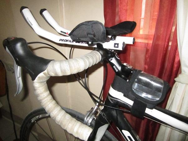 steiler Vorbau Rennradlenker