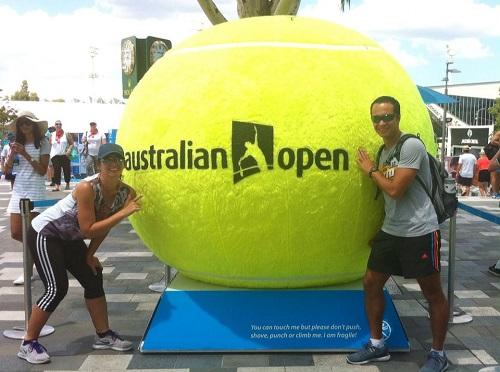 Live bei den Australian Open 2015