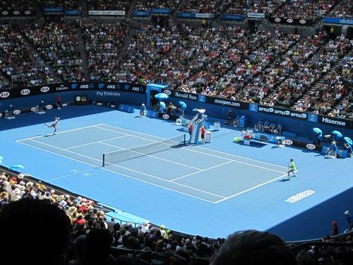 Simone Bolelli vs. Roger Federer, Australien Open 2015