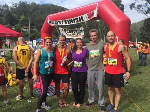 Half Marathon Warburton 2015