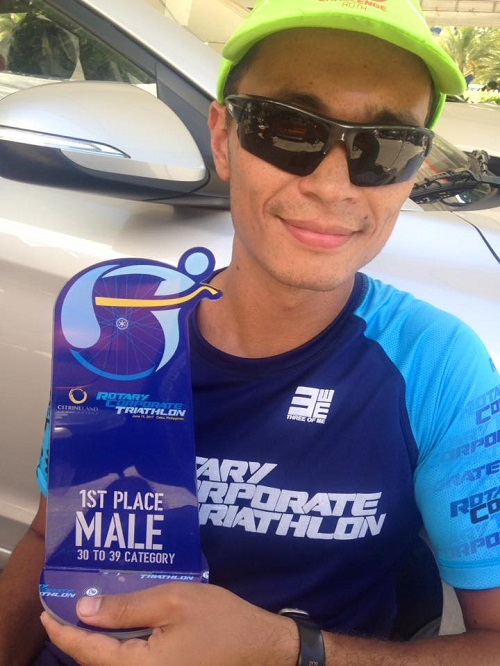1. Platz AG Rotary Corporate Triathlon, Mactan Island